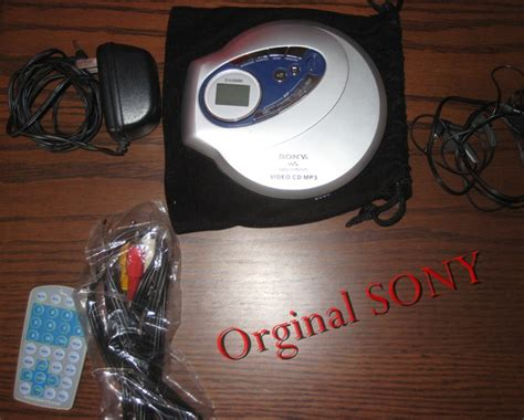 Vcd Original White orginal sony mp3 cd vcd player clickbd