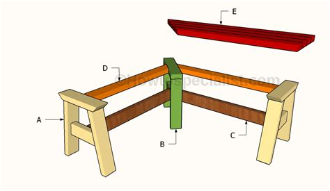 how to make a corner bench how to build a corner bench howtospecialist how to build step by step diy plans