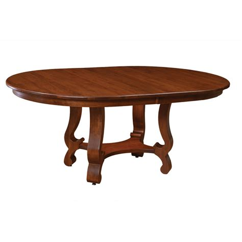 Arlington Collection Dining Table Cherry Qswo Amish Furniture Dining Table