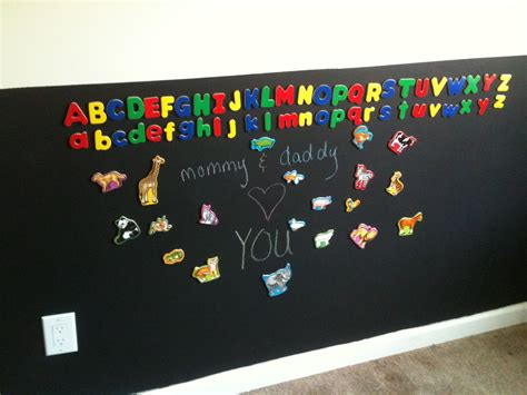 magnetic chalkboard paint dulux baum squad the baum family chalk and or magnetic paint