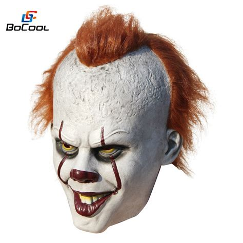 Masker 6 In 1 The stephen king s it pennywise mask costume scary mask it clown mask