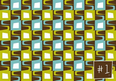 mid century pattern    vector art