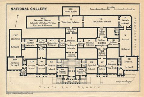 national gallery of floor plan 1930 national gallery antique floor plan