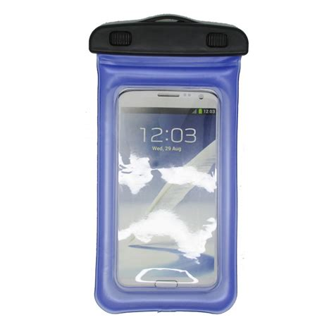 Waterproof Bag With Armband For Smartphone 4 5 Inchi T0210 2 waterproof bag for smartphone 4 7 5 5 inch abs180 105 pacific blue jakartanotebook