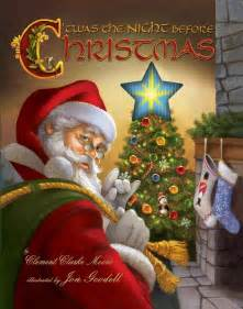 twas the night before christmas board book free shipping