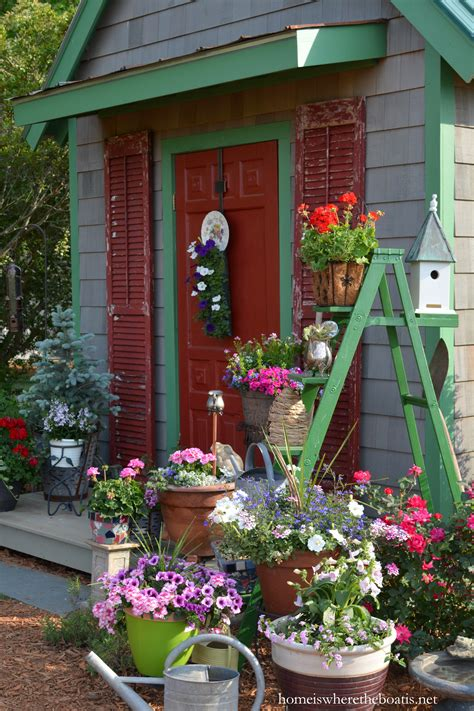 Plant Shed by A Ladder To Plant For The Potting Shed Home Is Where The