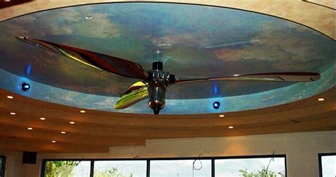ceiling fan that looks like airplane propeller recycled propeller ceiling fan random stuff that made