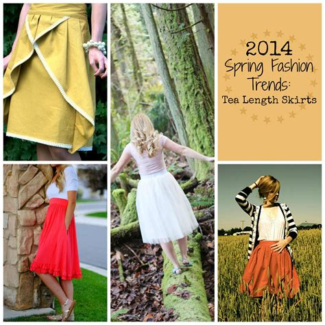 fashion trends spring 2014 pinterest crafts 2014 spring fashion trends tea length skirts favecrafts