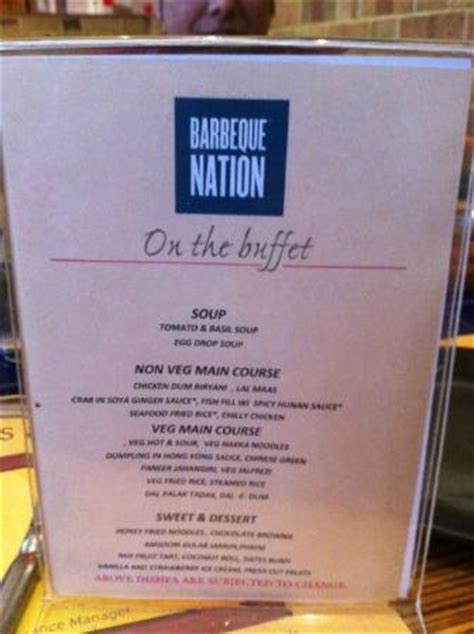 Sweets Picture Of Barbeque Nation Pune Tripadvisor Barbeque Nation Buffet Price