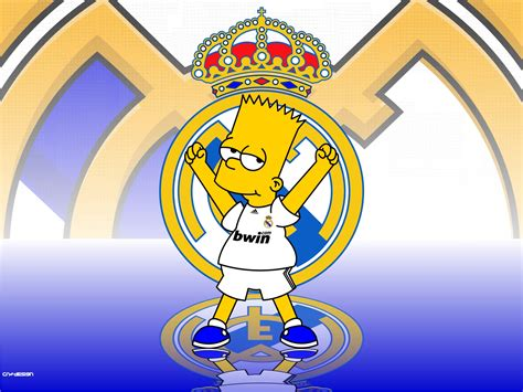 imagenes del real madrid en la chions simpsons del real madrid