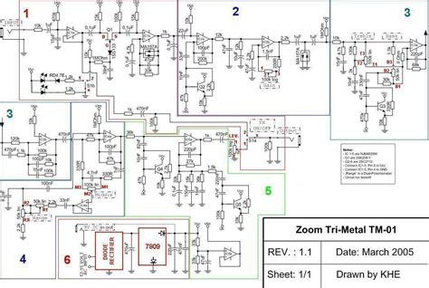 zoom tri metal layout mt2clone2005 zoom trimetal tm 01 new pcb project