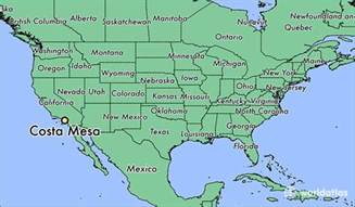 where is costa mesa california on the map where is costa mesa ca where is costa mesa ca located