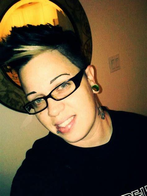 tattooed lesbians smile tattoos hair oooo weee