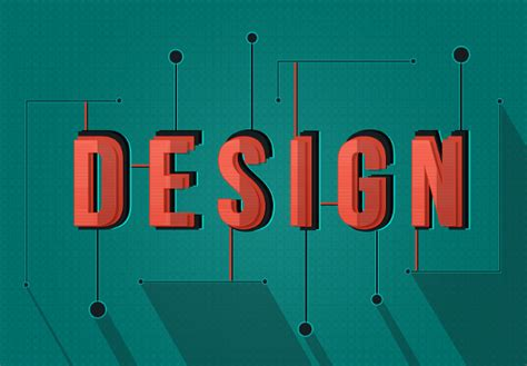 flat design text effect create a shaded stylized text effect in photoshop sitepoint