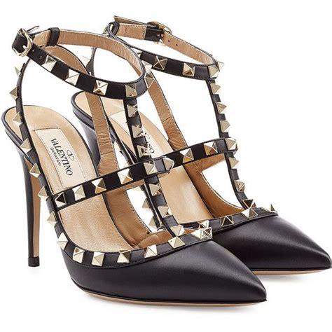 High Heels Valentino valentino leather rockstud stiletto heels 810 liked on