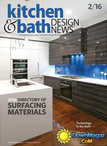kitchen design news kitchen bath design news february 2016 187 download pdf magazines magazines commumity