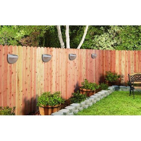Outdoor Solar Lights Nz Bright Outdoor Solar Led Fence Lights X3