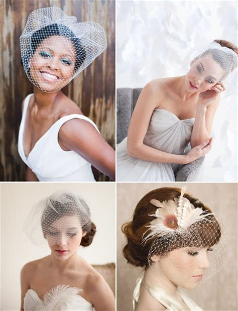 Wedding Hairstyles Hair Worn by Chic Dress Uk How To Wear A Birdcage Veil With Your Hair