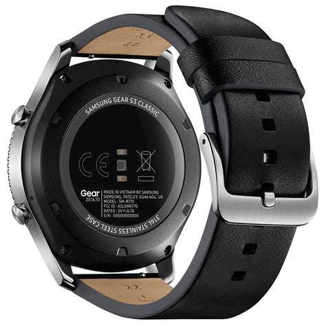 Samsung Gear S3 samsung gear s3 classic argent montre connect 233 e samsung