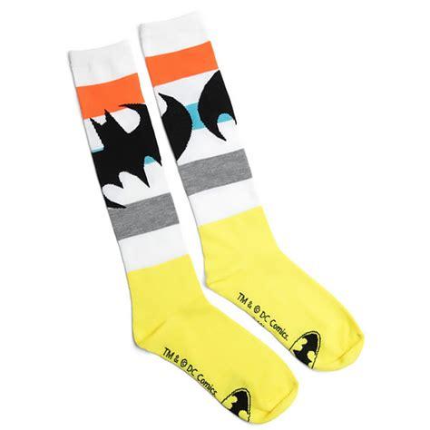 Kaos Spandex Captain America Navy Color Bermerk High Quality batman logo socks
