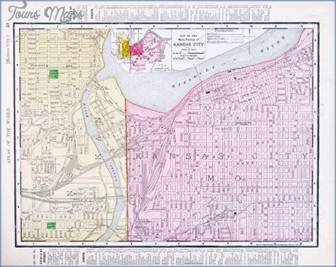 kansas city map usa kansas city map us toursmaps