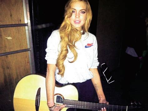 Lindsay Lohan Is Cold Possibly Literate by Lindsay Lohan To V I P Important
