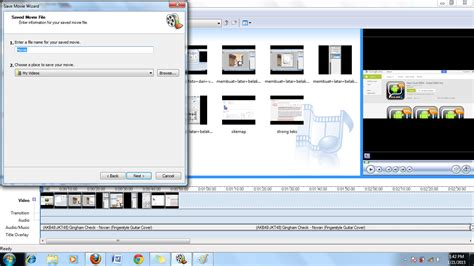 tutorial editing video dengan windows movie maker cara membuat video dari foto slideshow menggunakan