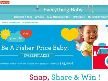 Toys R Us 529 Gift Cards - the be a fisher price baby sweepstakes sweepstakes fanatics