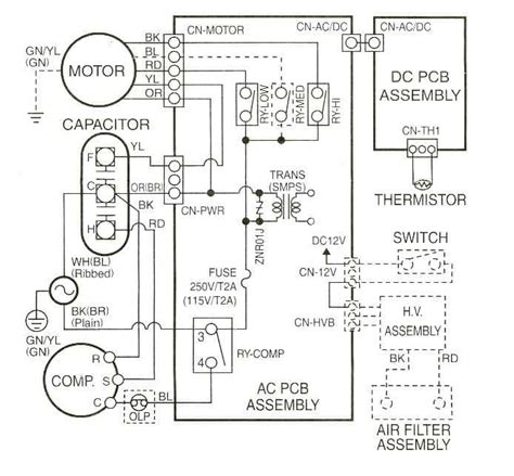 luxaire air conditioner wiring diagram wiring diagram