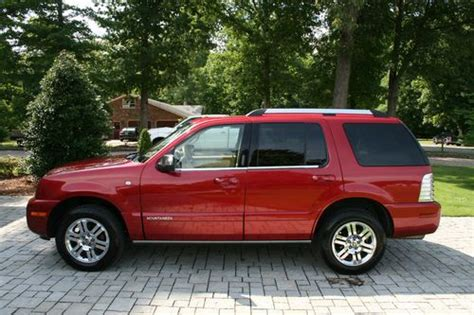 find used 2008 mercury mountaineer premier awd v8 in west point virginia united states for us