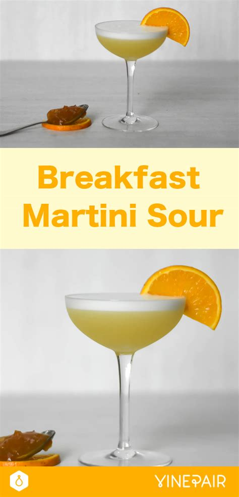 martini sour breakfast martini sour recipe vinepair
