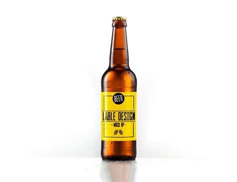 beer bottle beer bottle mockups mockupworld