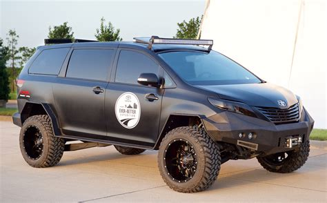 toyota vans try calling this custom toyota sienna a soccer mom s