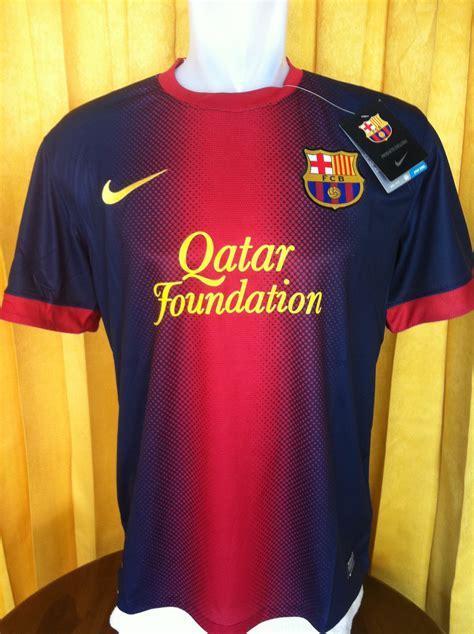 Kaos Bola Barcelona jersey baju bola 2014 kaos jersey bola grade ori murah auto design tech