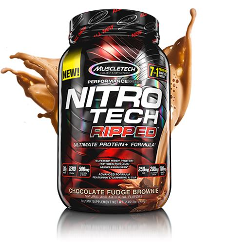 Nitrotech Muscletech Ready muscletech performance series nitro tech ripped at bodybuilding best prices on nitro tech
