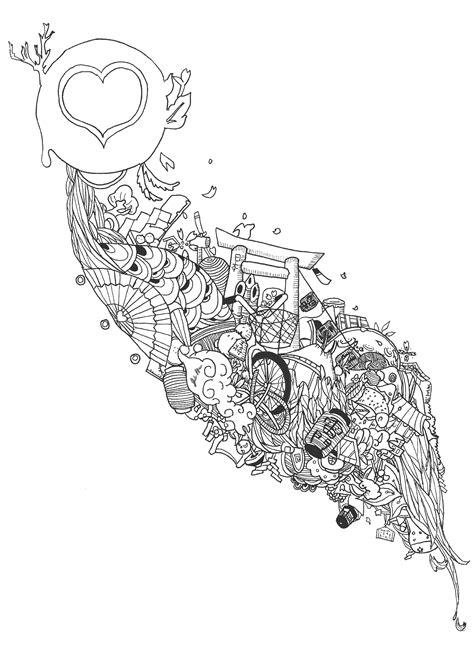 doodle 4 japan japan doodle by jonnycupcake on deviantart