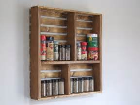 Wooden Kitchen Storage Jars - creative spice rack ideas amp what to do with the old ones 1