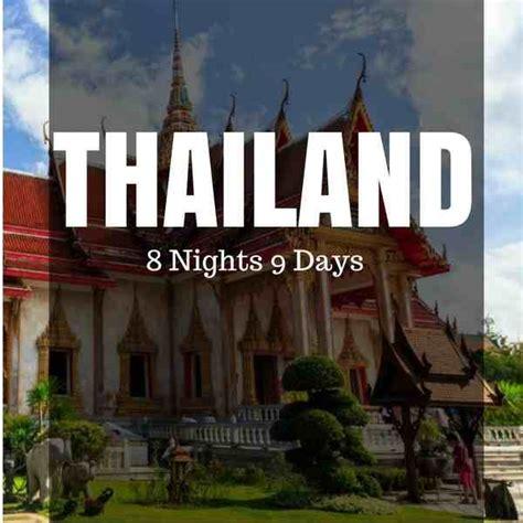 thailand holiday package bangkok pattaya phuket krabi
