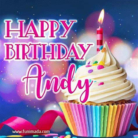 happy birthday andy lovely animated gif   funimadacom