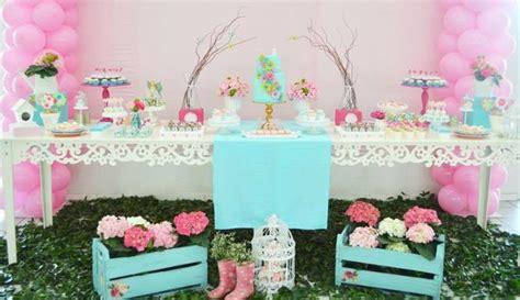 Garden Tea Baby Shower Ideas by By Kara
