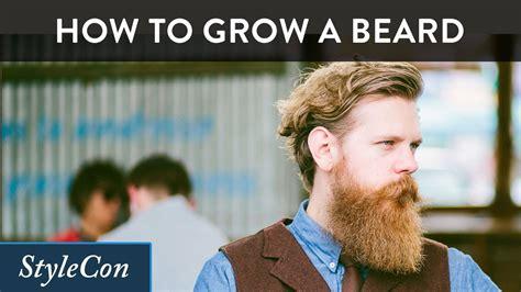 how to put in a beard how to grow a beard beard growing tips from beardbrand s