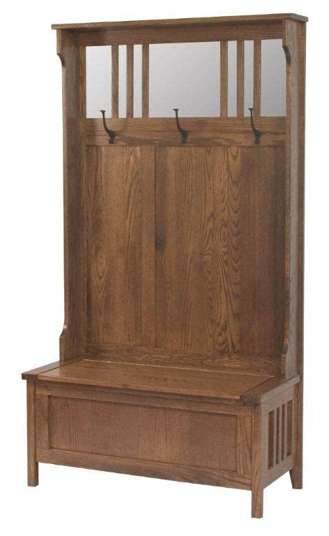 mission entry bench entryway 40 quot rustic mission hall storage bench from