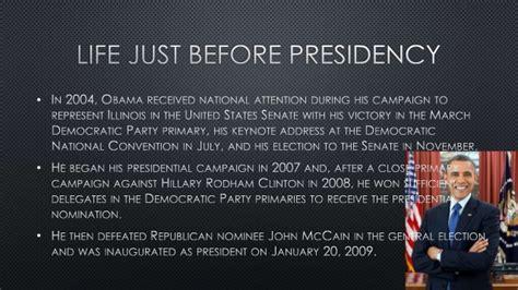biography of barack obama ppt obama presentation