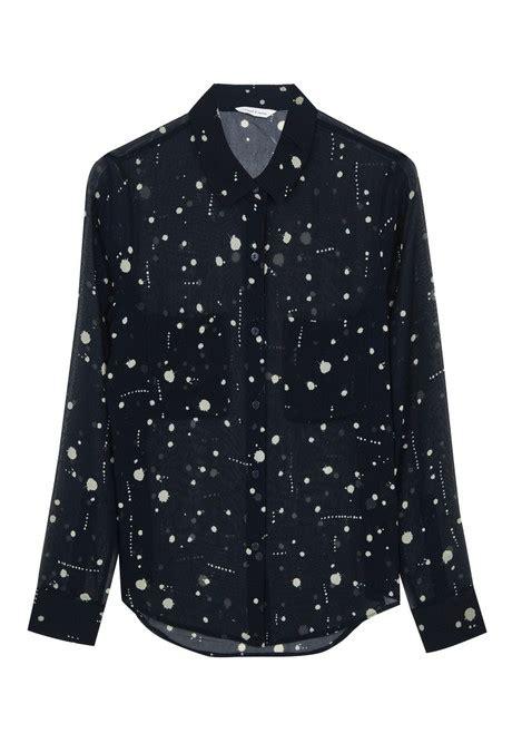 Wn Blouse Molly Navy navy molly shirt