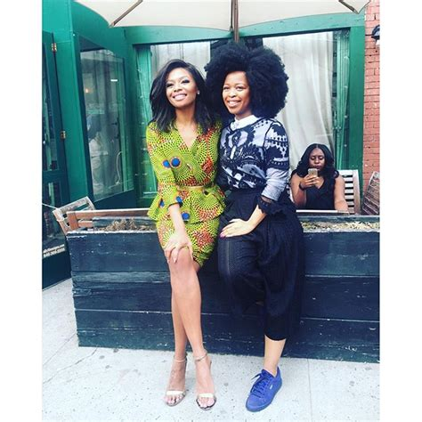 see this instagram photo by ny mcgee afro hair curly when bonang matheba took her fabulous african style to new