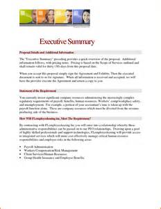 executive summary cover letter cover letter business report format executive summary