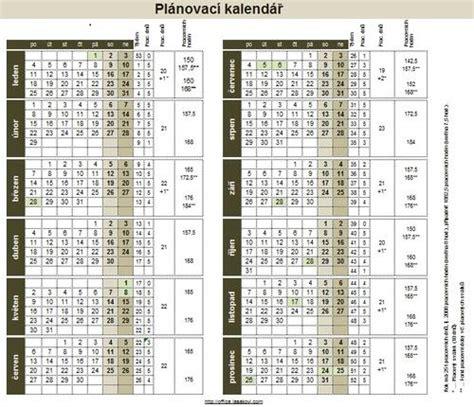Pl Novac Kalend 2018 Office Excel Plnovac Kalend 2017 V Excel Ke Staen Zdarma