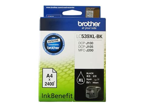 Lc 539xl Black Ink Cartridge lc 539xl bk black ink cartridge wootware