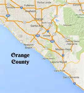 orange california map orange county wedding ceremony officiant