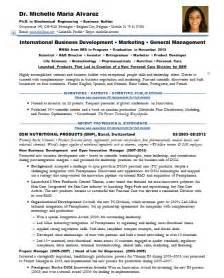 resume samples biotech pharma